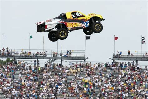 Wheels Truck Jump At Indy Jared The Car