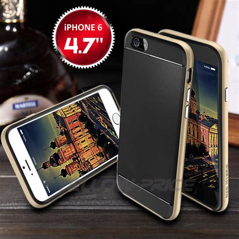 Iphone 7 Caseology Shieldsent Bumper Armor Soft Ca Limited gold plated bumper rubber for iphone 6 4 7 protective shockproof outdoor ebay