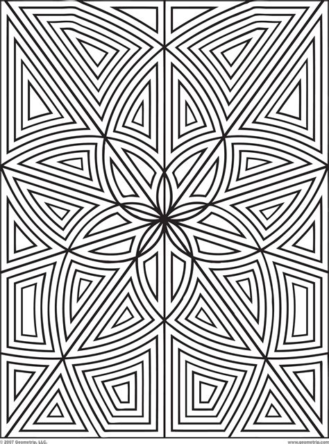 geometric coloring pages advanced geometric shape coloring pages coloring home