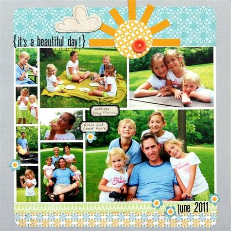 scrapbook layout with lots of pictures 189 best scrapbook layouts 7 or more photos images on