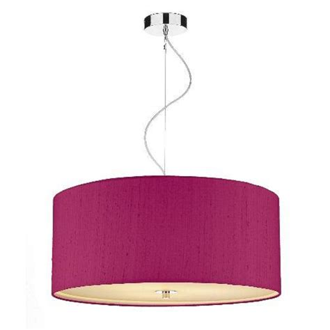 Pink Ceiling Lights Cambridge Lighting Renoir Large Pink Silk Ceiling Pendant Light Shade