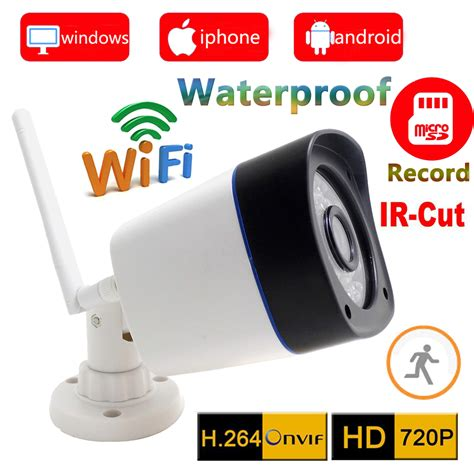 Wireless Ip Ipcam Outdoor 2mp 1080p Infrared Waterproof 720p ip wifi wireless outdoor waterproof