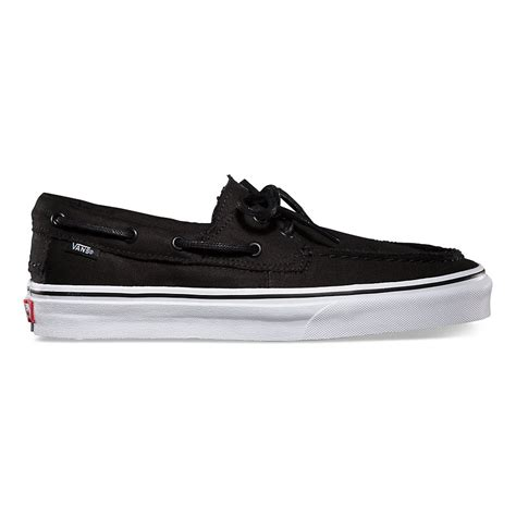 Vans Zapato zapato barco in black true white vans black true white