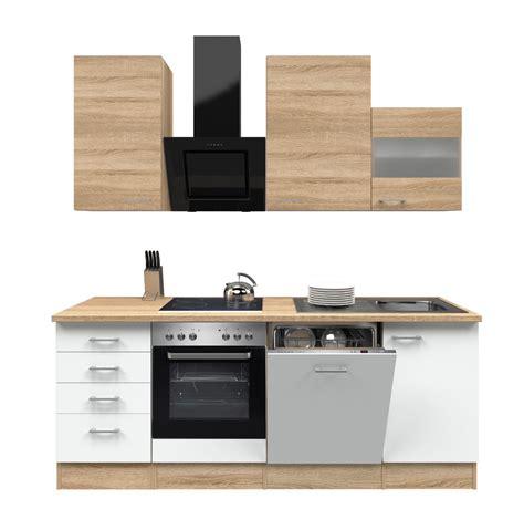küchenzeile günstig kaufen mit elektrogeräten k 252 chenblock mit elektroger 228 ten g 252 nstig ttci info