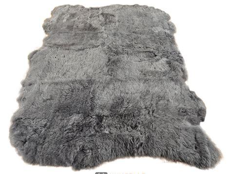lammfell teppich lammfell teppich grau 115 x 170 cm kurzwollig bei kuhfell