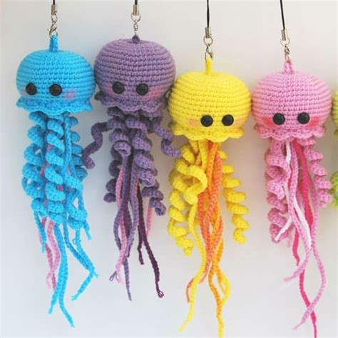 crochet pattern jellyfish happy jellyfish amigurumi pattern amigurumi today