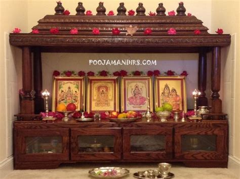 custom pooja mandir made in the usa cary carolina