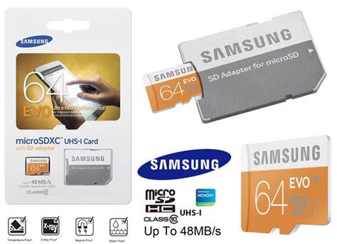 Microsd Samsung Evo 64gb samsung evo 64gb micro sd card lazada singapore