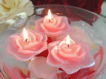 candele rosa discount floating candles scented candles