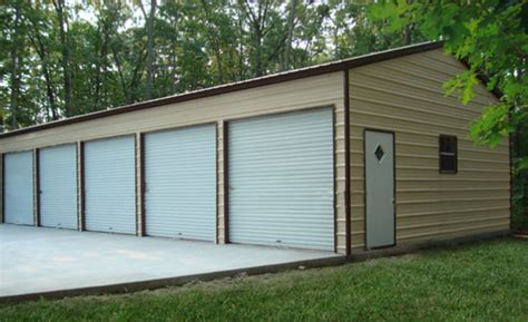 all our prefab four car garage are popular for their massive storage space prefab steel garages metal buildings and garage buildings
