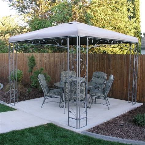 Replacement Awnings For Gazebos by Replacement Canopy For The Martha Stewart