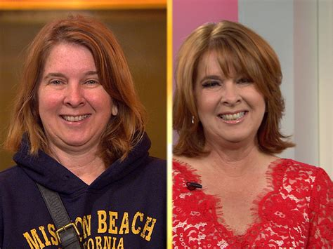 50th birthday makeover woman marks 50th birthday with hot makeover today com