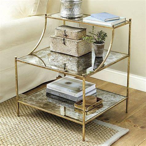 glass bedroom side tables best 25 gold side tables ideas on pinterest glass side