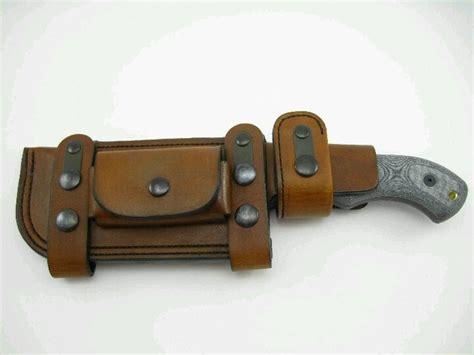 horizontal leather knife sheath horizontal sheath leather craft