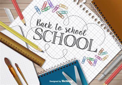 back to school templates back to school template free vector stock