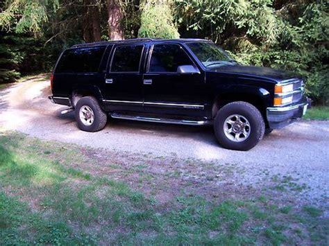 how to fix cars 1997 chevrolet suburban 2500 windshield wipe control sell used 1997 chevy 2500 suburban rebuilt 6 5 turbo diesel in snohomish washington united