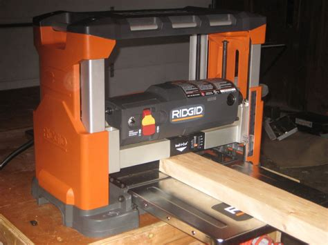 review 13 quot bench top planer reconditioned by fireguy