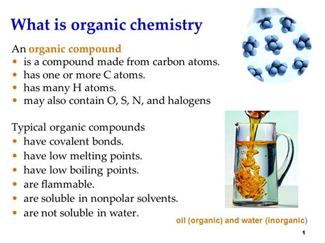 What Is An Organic Compound What Is Organic Chemistry Ppt