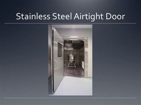 air tight door design cleanroom airtight doors moduclean