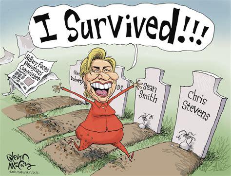 hillary political cartoons top 5 political cartoons of hillary s benghazi testimony