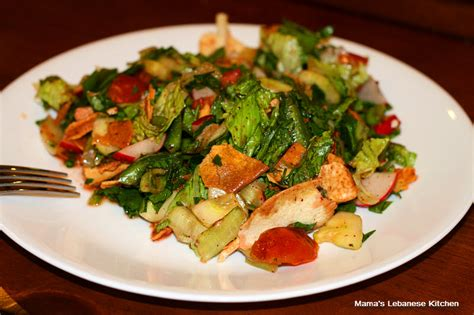 S Lebanese Kitchen by Fattoush Salad Recipe Lebanese Peasant Salad S