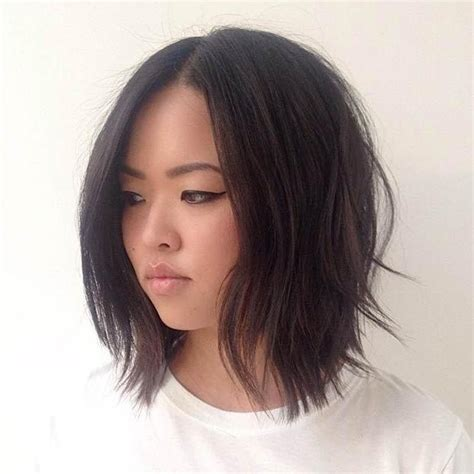 the 25 best short blunt haircut ideas on pinterest 15 ideas of long bob hairstyles korean