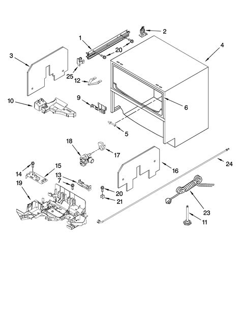 kitchenaid drawer dishwasher parts 301 moved permanently