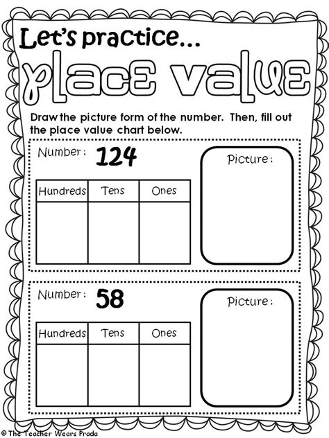 free printable lesson plans place value 14 best math place value images on pinterest place