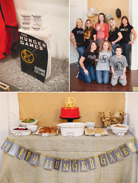 themes in hunger games novel creative party themes kiwi families
