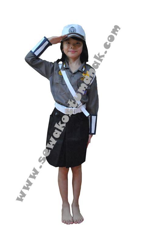 Baju Profesi Anak Kowad Size 5 baju kostum polisi sewa kostum anak di jakarta tangerang