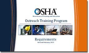6292 Course Outline by Osha 10 Hour