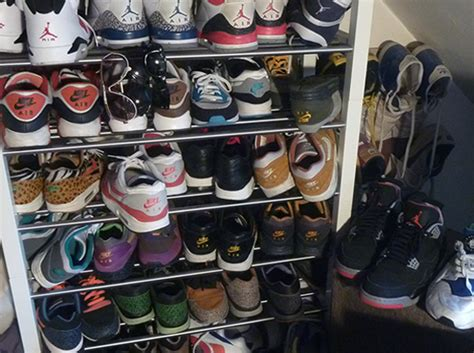 sneaker collector 100 pair sneaker collection on ebay sneakernews