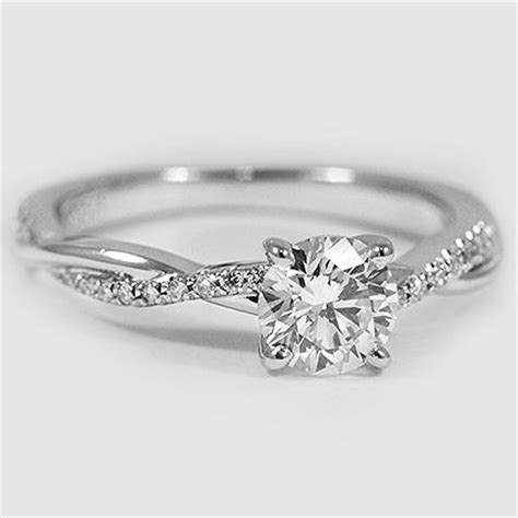 best 25 platinum engagement rings ideas on