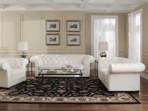 chesterfield sofa weiss leather white chesterfield sofa loveseat chair ottoman