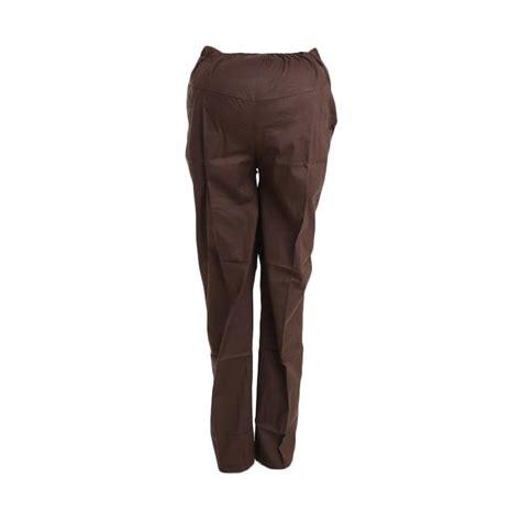 Celana Menaikan Bokongcocok Ibu Habis Melahirkan jual maternity lcp020b coklat tua celana harga kualitas terjamin blibli