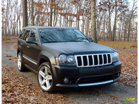 jeep grand cherokee custom 2006 custom matte black jeep grand cherokee srt8 58915565
