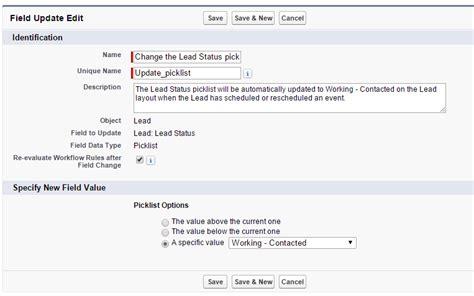 workflow rule scheduleonce using salesforce workflow to updat