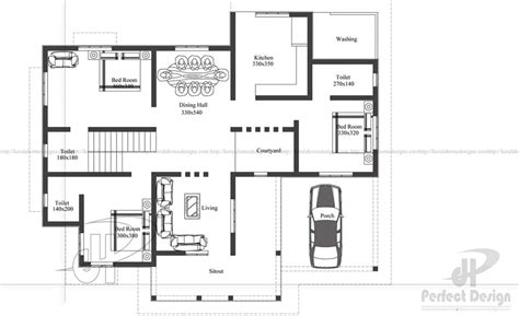 how large is 130 square feet 1398 sq ft contemporary home kerala home design