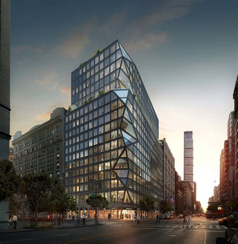 three building a gramercy condo with a three dimensional glass facade