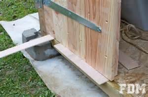 construction d une cabane de jardin 3 232 me et derni 232 re partie