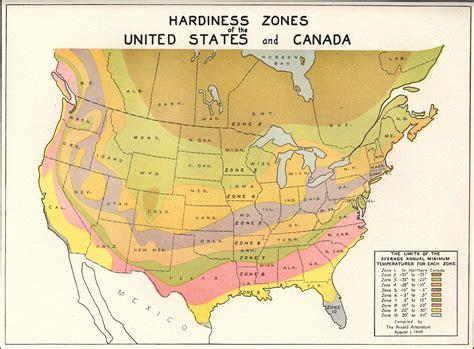 planting zone map weather data 187 arnold arboretum