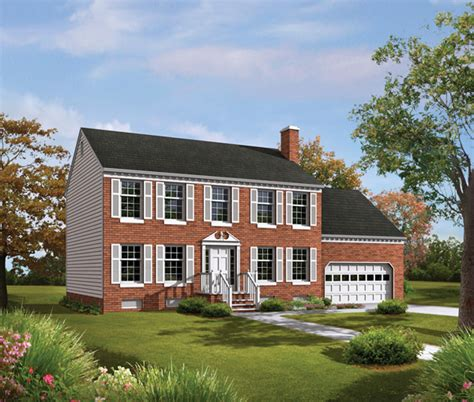 tidewater colonial home plan 001d 0009 house plans and more
