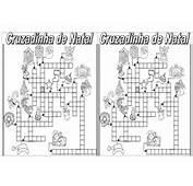 Cruzadinha E Ca&231a Palavras Natal