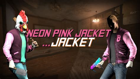 Jaket The 2 neon pink jacket jacket payday 2 gt skins gt heisters