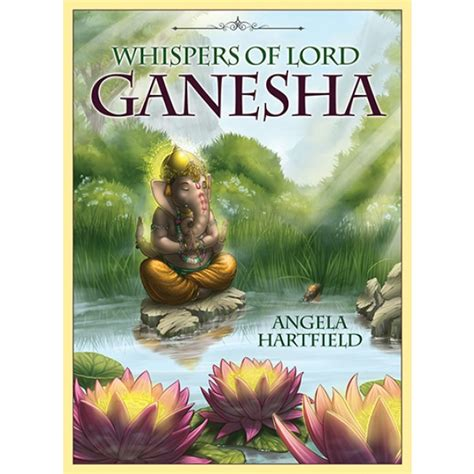 whispers of healing oracle cards books ganesha whispers of lord oracle cards card decks