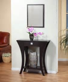 Entryway Table With Mirror Small Entryway Table For Minimalist Interior Space Interior Design Piinme