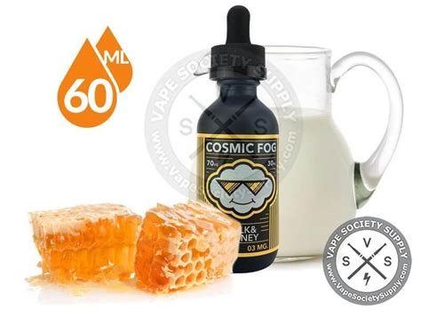 Honey 60ml milk honey by cosmic fog 60ml