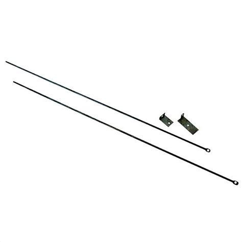 fireplace rod adjustable fireplace curtain rod kit c 6800