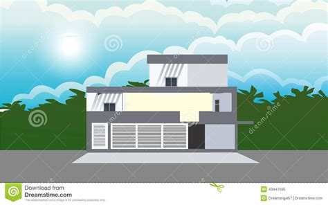 Apartments For Rent With No Credit Or Background Check Apartment Stock Vector Image 43447595