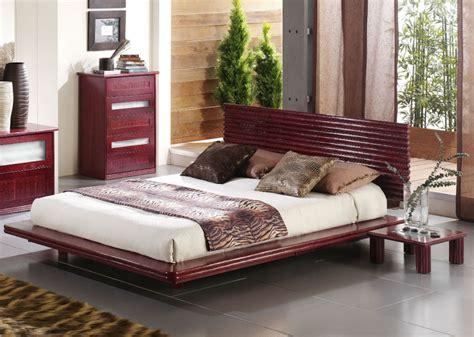cadre de lit japonais cadre de lit japonais en rotin brin d ouest